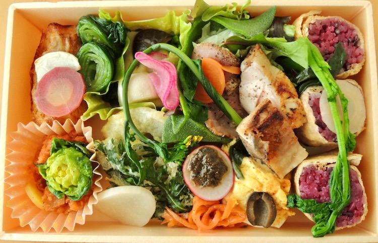 お弁当 野菜たっぷり レストランチッチ